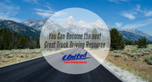 You Can Become the next Great Truck Driving Resource