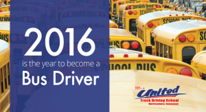 Become a bus driver in 2016
