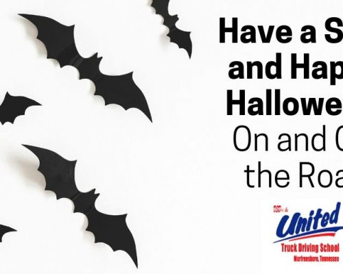 blog image with title: Have a Safe and Happy Halloween - On and Off the Road