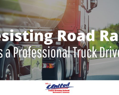 Resisting Road Rage as a Professional Truck Driver