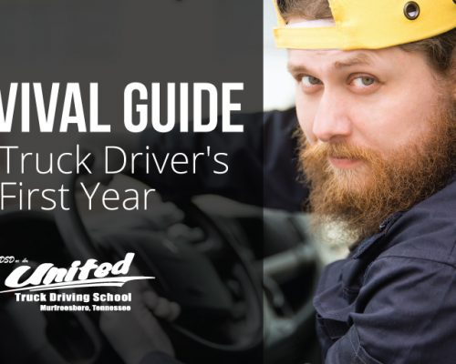 Survival Guide to a Truck Driver's First Year